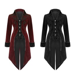 Women Steampunk Victorian Tailcoat Jacket Custom Aristocrat Regency Coat