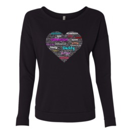 Submissive Heart Women Sweatshirt