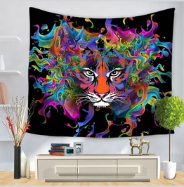 Unique Skull Print Wall Tapestries D47