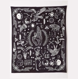 Unique Multi Print Wall Tapestries D65