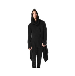 Avant Garde Gothic Asymmetrical Loose Fit Men Hoodies Sweatshirt