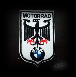Motorrad Bmw Iron On Patch.