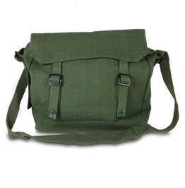 Webbing Haversack Messenger Bag (Olive/Green) Highlander