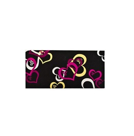 "Barfly Apparel's ""Love Is Inevitable"" Amaranth Women's Ultra Clutch Wallet"