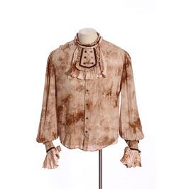 Steampunk Coffee Men's Vintage Long Sleeve Shirt