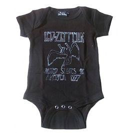 Rocker Bye Baby Official Led Zeppelin Body 3 6 Month