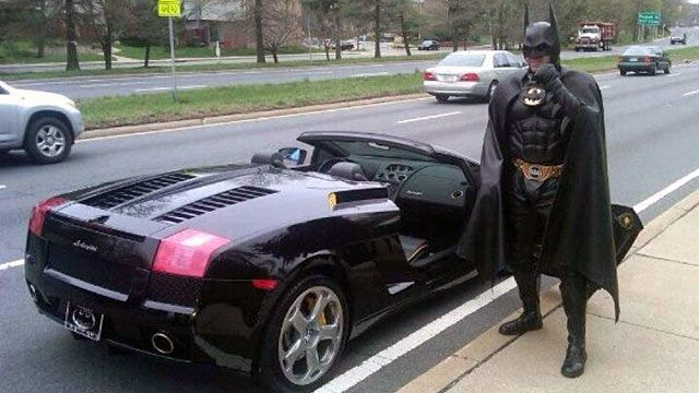 Rip batman good samaritan lenny robinson dies after batmobile breaks down