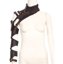 Steampunk Black Women's Neck And Arm Warmer