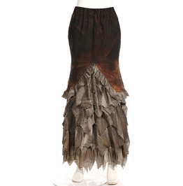 Steampunk Coffee Women's Gathered Skirt