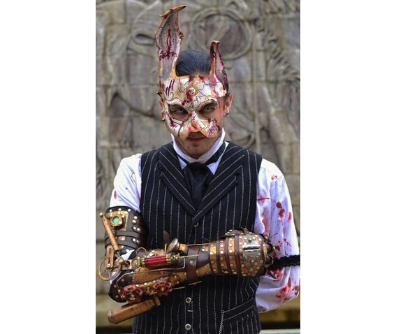 Bio Shock Leather Splicer Rabbit Mask Rebelsmarket
