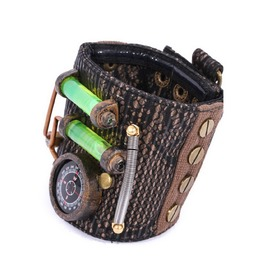Steampunk Black Women's Goblin Wrist Band