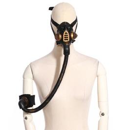 Steampunk Black Women's Vintage Gas Mask