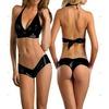 Latex look bikini bikinis and beachwear 2