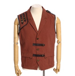 Steampunk Coffee Men's Explorer Vest