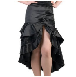 Pinup Satin Lace Skirt