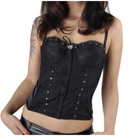 Lace Corseted Top