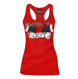 Feel The Joy Red Tank Top