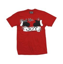 Men's Feel The Joy Red T Shirt