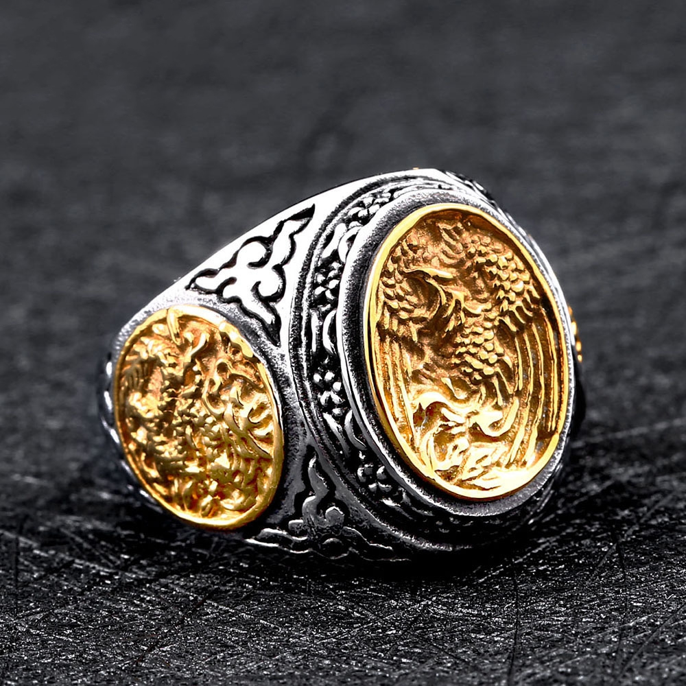 clothing phoenix online product women ring for men silver redemptor shop category akitsune jewelry rings and accessories side