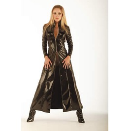 Matrix Pvc Long Jacket