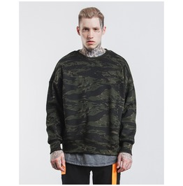Men's O Neck Camouflage Oversize Pullovers