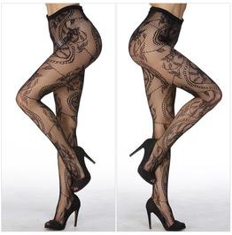 Punk Rock Sexy Fashion Women's Net Fishnet Bodystockings Pattern Pantyhose