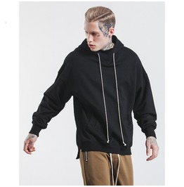 Men's Fashion High/Low Slim Fitted Hoodies