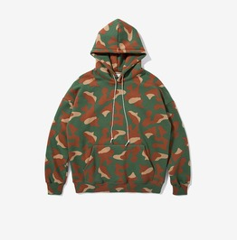 Men's Fashion Camouflage Printed Craftwork Hoodies