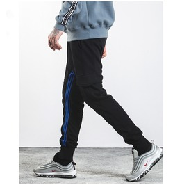 Men's Side Stripe Colorblock Pocket Joggers