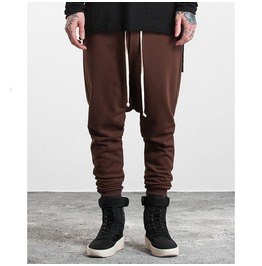 Men's Classic Elastic Drawstring Joggers Pants