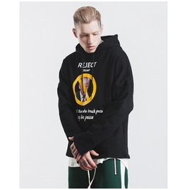 Men's Fashion Printed Loose Hoodies