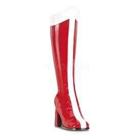Wonder Woman Design Knee High Super Hero Boots