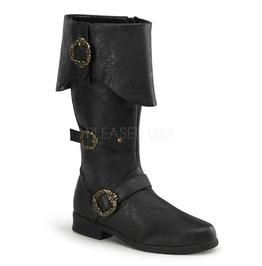 Pirate Captain Medieval Renaissance Knight Costume Men's Boot