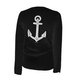 Pirate Of Destiny Anchor Cardigan