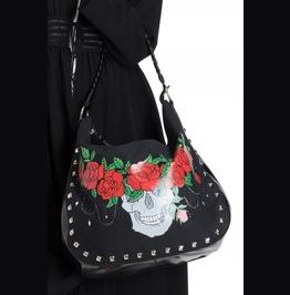 Jawbreaker Skull Crown Shoulder Bag