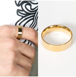 Plain Simple Gold Ring 45
