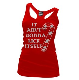 It Ain't Gonna Lick Itself Women's Racer Back Tank Top