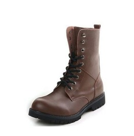 Genuine Leather Martin Ankle Boots | Size 38 49