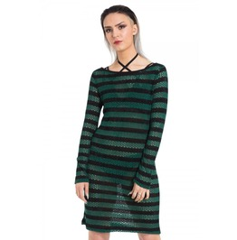 Jawbreaker Clothing Forest Stripes Dress