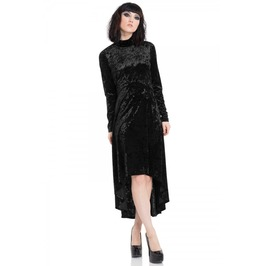 Jawbreaker Clothing Black Velvet Dress