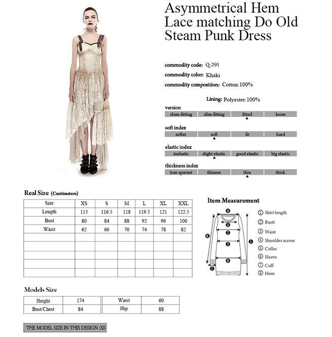 42c2d82544413 Lace Matching Do Old Dress | Punk Rave | RebelsMarket