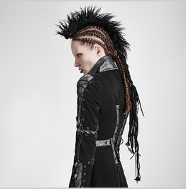 Personality Punk Rock Accessories Wool Hair Headwear