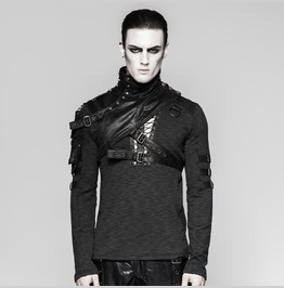 Punk Accessories Soldier Close Fitting Male Shoulder Armor