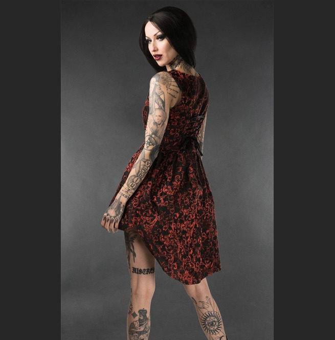 rebelsmarket_black_red_brocade_victorian_gothic_short_front_long_back_mini_dress_dresses_4.jpg