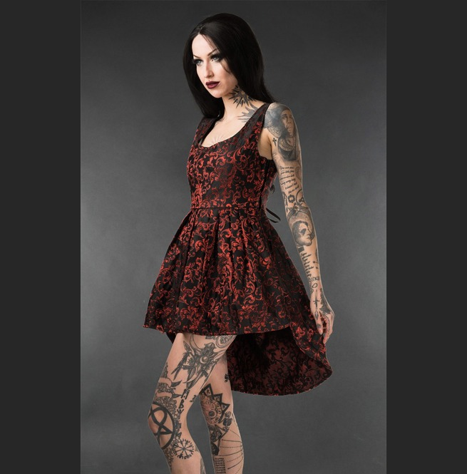 rebelsmarket_black_red_brocade_victorian_gothic_short_front_long_back_mini_dress_dresses_3.jpg