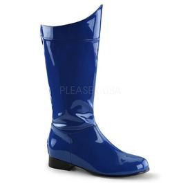 Super Hero Superman Villians Space Pirate Costume Blue Boots ( Hero 100 )