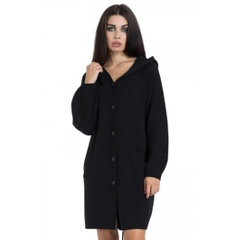 Jawbreaker Clothing Black Oversized Cocoon Sweater