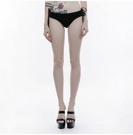 Punk Rave Women's Gothic Lace Floral Lace Up Underpants Swimwear S249