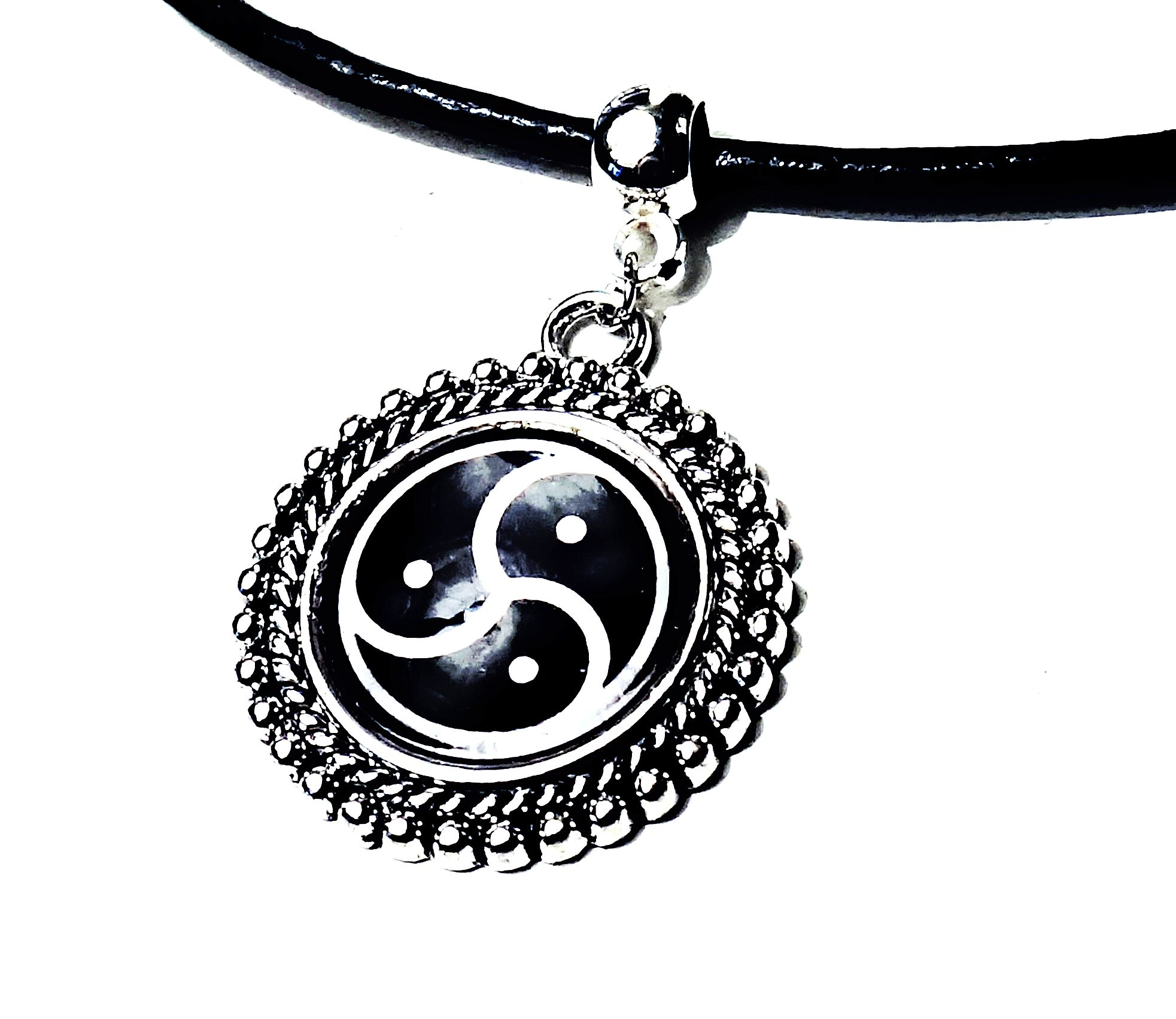 Submissive collar bdsm symbol triskele triskelion necklace dominant product details biocorpaavc Gallery