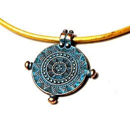 Submissive Collar Hippie Clothing Trippy Necklace Psychedelic Trance Neon